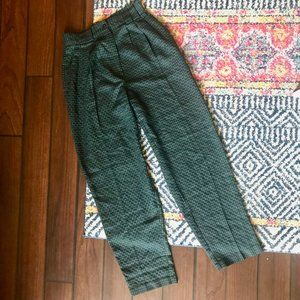 Vintage Checkered Trousers